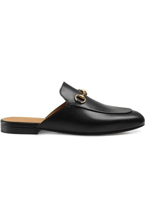 Gucci Dames Slippers - Princetown leather slipper