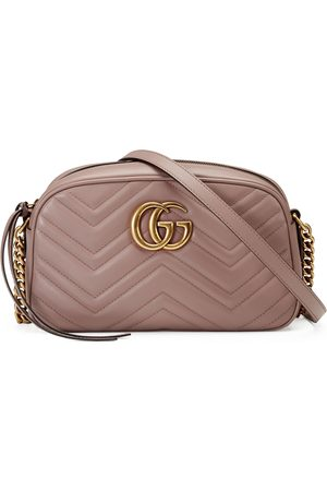Gucci Dames Schoudertassen - GG Marmont small matelassé shoulder bag