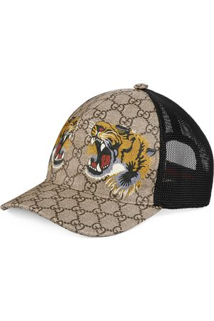 Gucci Tigers print GG Supreme baseball hat