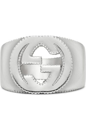 Gucci Interlocking G ring in silver