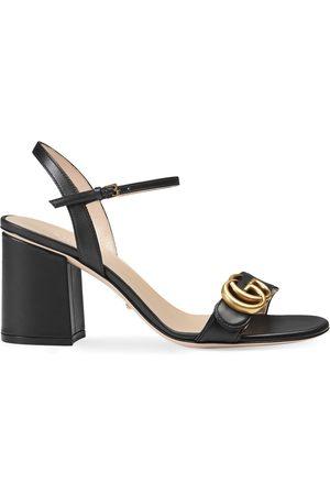 Gucci Leather mid-heel sandal