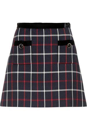 Miu Miu Checked miniskirt