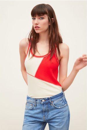 Zara Tweekleurig t-shirt