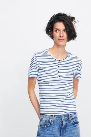 Zara Gestreept t-shirt