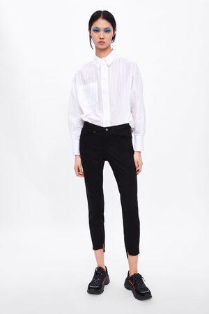 Zara Zijdeachtige gekleurde broek