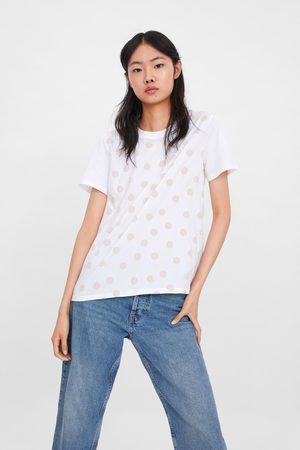 Zara T-shirt met op het voorpand
