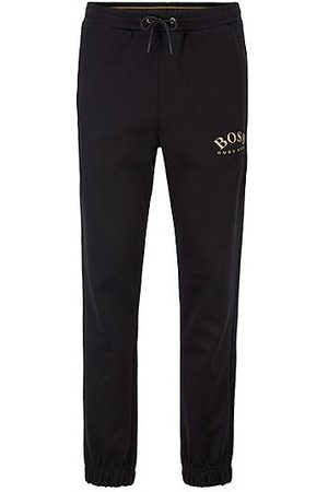 HUGO BOSS Slim-fit joggingbroek met logo en boorden