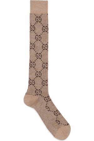 Gucci Heren Sokken & Kousen - Lamé GG socks