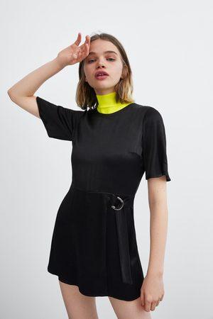 Zara Zijdeachtige jumpsuit-jurk