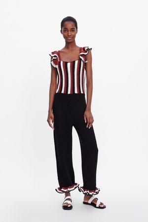 Zara Jumpsuit met haakwerk in limited edition