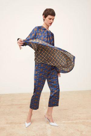 Zara Pareobroek met combi-print