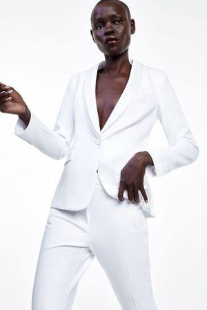 Zara Dames Blazers & Colberts - Smokingblazer met gecombineerde revers