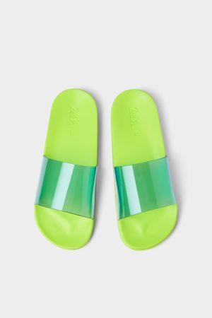 Zara Heren Sandalen - Vinyl sandalen
