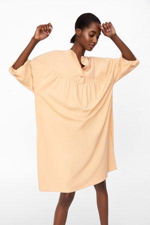Zara Blouse-jurk met knopen