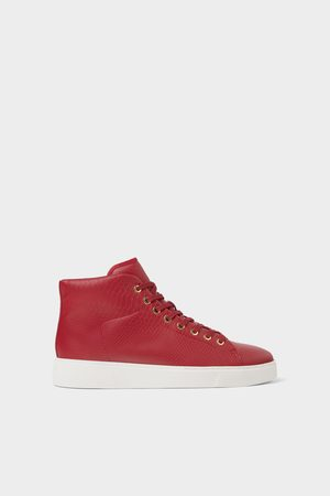 Zara Rode high-top sneakers