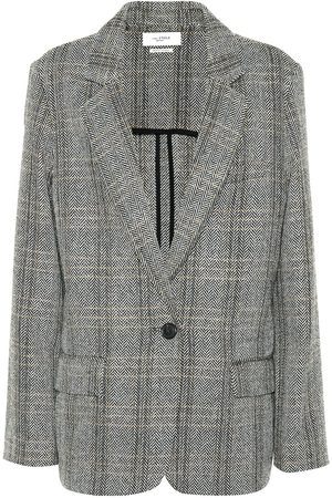 Isabel Marant Charly checked wool blazer