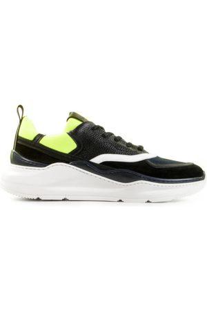 Barracuda Heren Sneakers - BU3238B Nero/Blu/Fluo Herensneakers