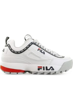 Fila Dames Sneakers - Disruptor Logo Low White Damessneakers