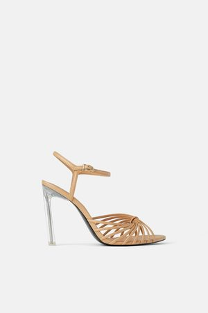 Zara Sandalen met methacrylaat hak