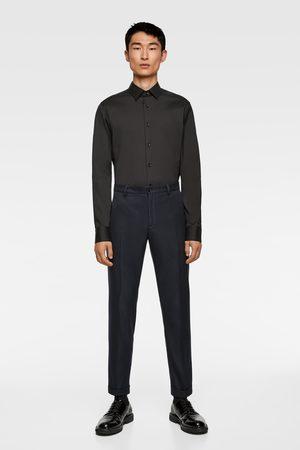 Zara Basic overhemd in extra slim fit