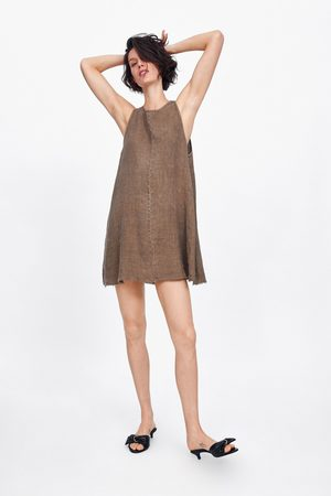 Zara Linnen jurk