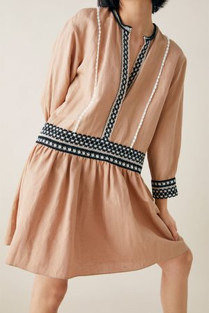 Zara Mini-jurk met biezen