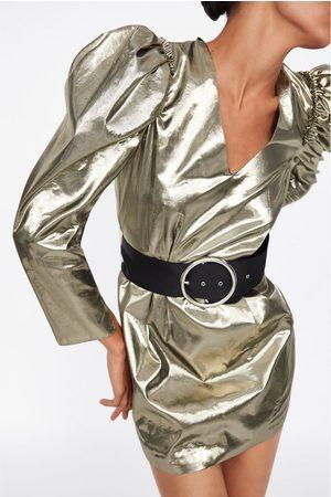 Zara Mini-jurk met ballonmouwen