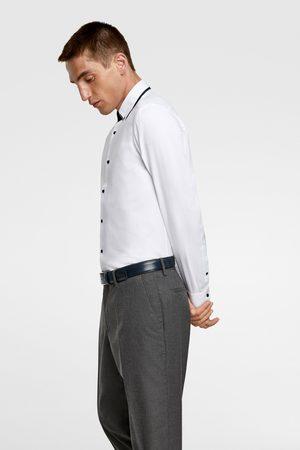 Zara Overhemd met dubbele combi-kraag