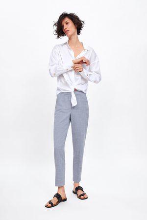Zara Gemêleerde skinny broek