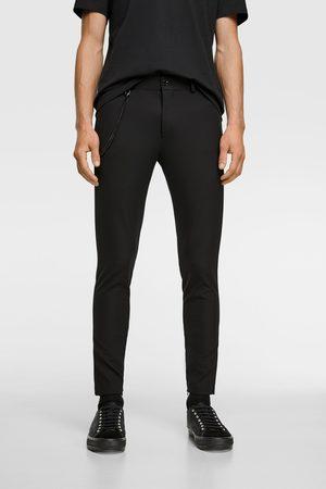 Zara Extra skinny broek met ketting