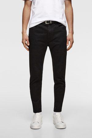 Zara Extra skinny broek met ceintuur