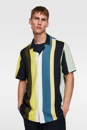 Zara Overhemd met verticale strepen
