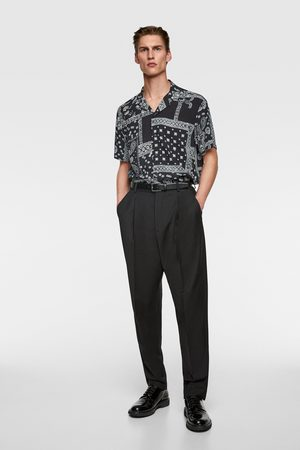 Zara Heren Overhemden - Overhemd met bandanaprint