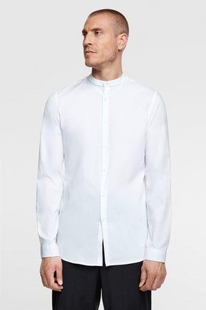Zara Heren Overhemden - Overhemd in extra slim fit met maokraag