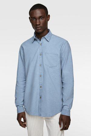 Zara Overhemd met ongelijke structuur