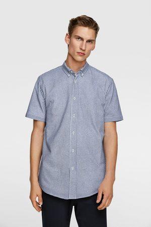 Zara Heren Overhemden - Geruit overhemd
