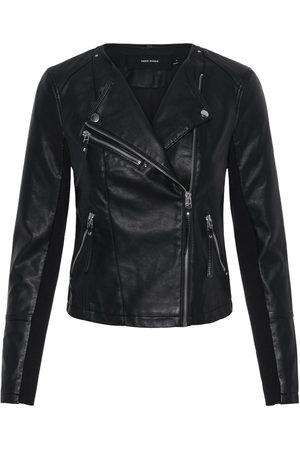 Vero Moda Vmria Fav Short Faux Leather Jacket: