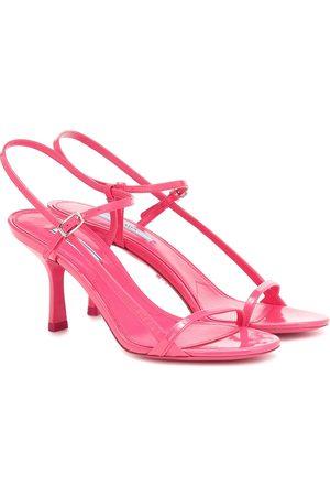 Prada Dames Sandalen - Patent leather sandals