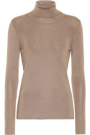 Prada Cashmere and silk turtleneck sweater
