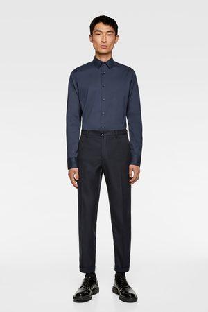 Zara Heren Overhemden - Basic overhemd in extra slim fit