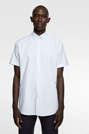 Zara Bedrukt overhemd traveler