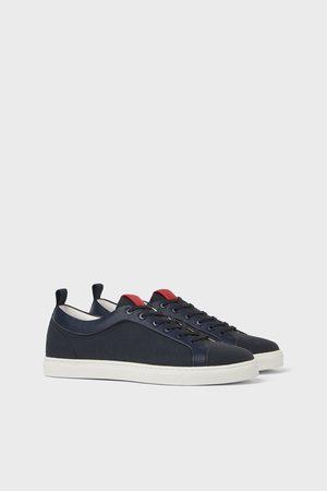 Zara Sneakers met netstof