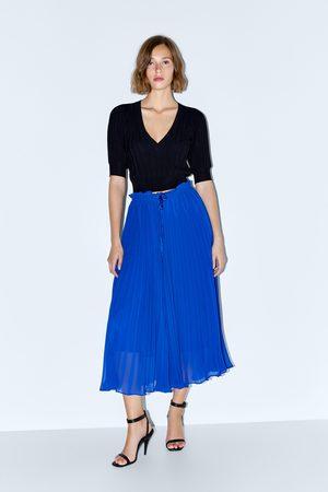 Zara Plissébroek in culotte-model