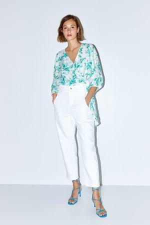 Zara Cropped jeans z1975 met hi-rise