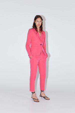 Zara Dames Pantalons - Skinny broek