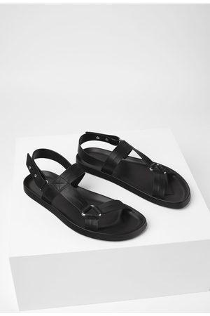 Zara Zwarte sandalen
