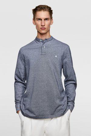 Zara Heren Poloshirts - Piqué polo met maokraag