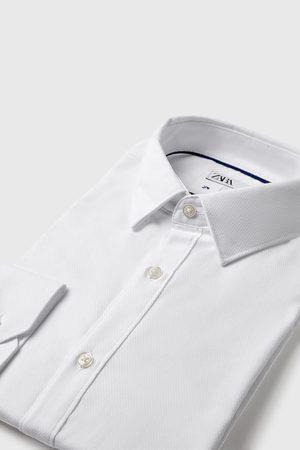 Zara Easy care overhemd met structuur