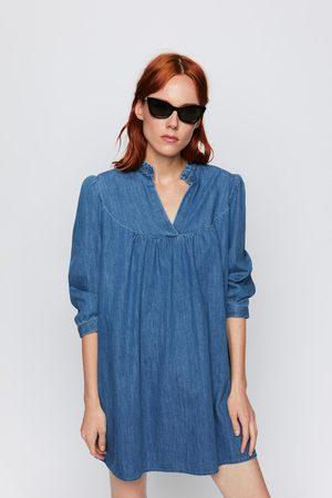 Zara Denim mini-jurk