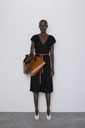 Zara Midi-jurk met ceintuur